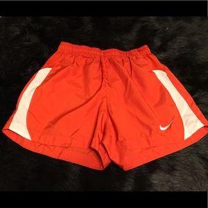 Nike Dri-fit Shorts in Orange